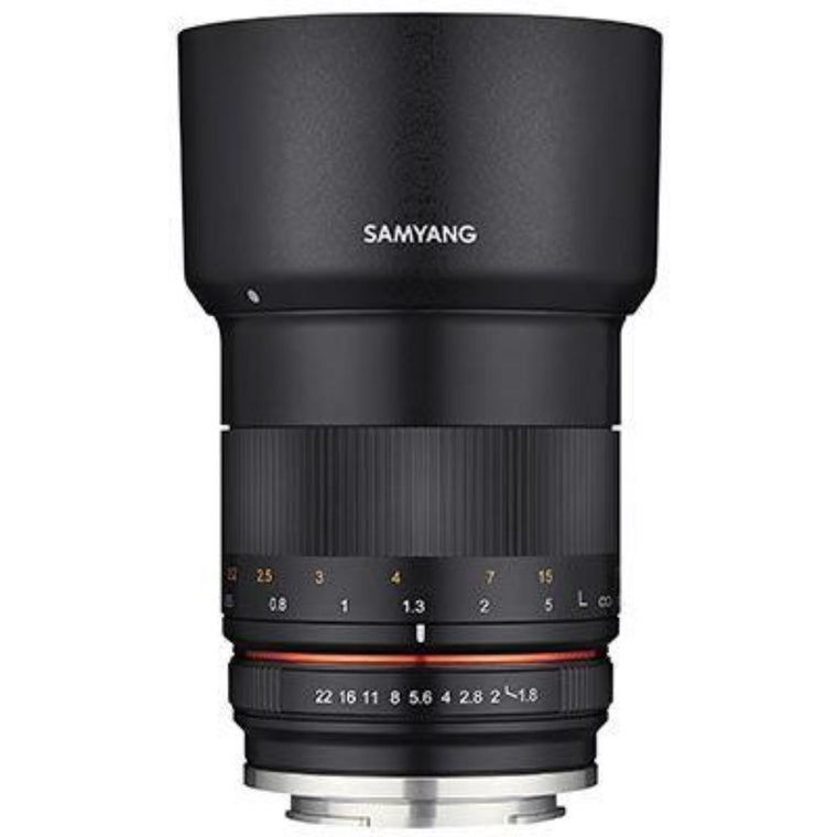 Samyang 85mm F1.8 MF Lens - Fujifilm X-Mount Fit