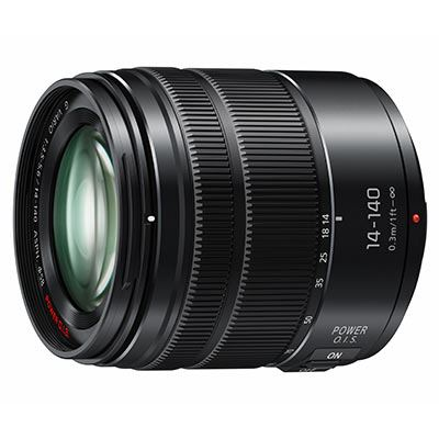Panasonic 14-140mm f3.5-5.6 II G Vario ASPH Power OIS Micro Four Thirds Lens