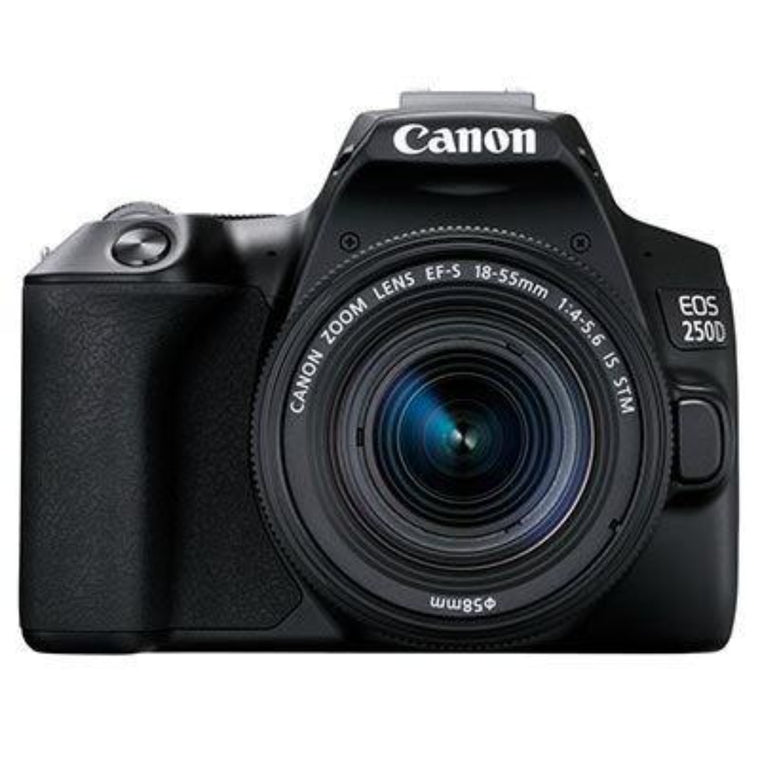 Canon EOS 250D Digital SLR 18-55mm IS STM kit - Black
