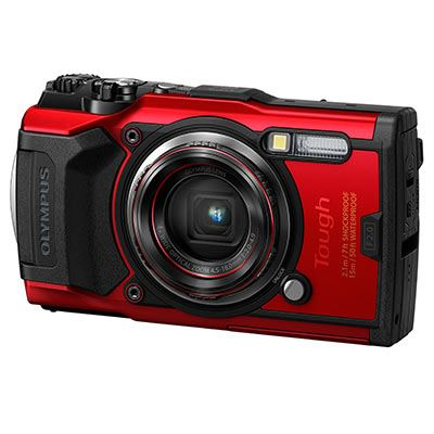 Olympus Tough TG-6 Red Digital Camera