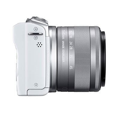 Canon EOS M200 CSC White Camera with EF-M 15-45mm Lens Kits