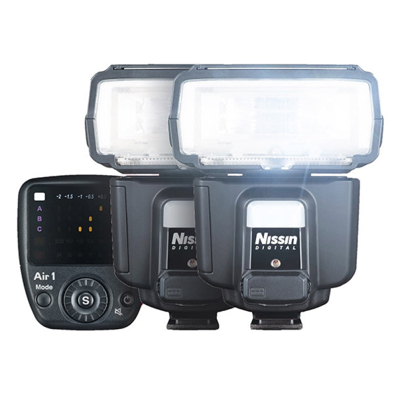 Nissin i60A Creative Set ( 2 flash guns & Commander )