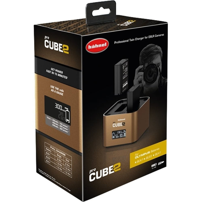Hahnel ProCube 2 Twin Charger - Olympus