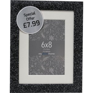 Sparkle Black Range 10x8