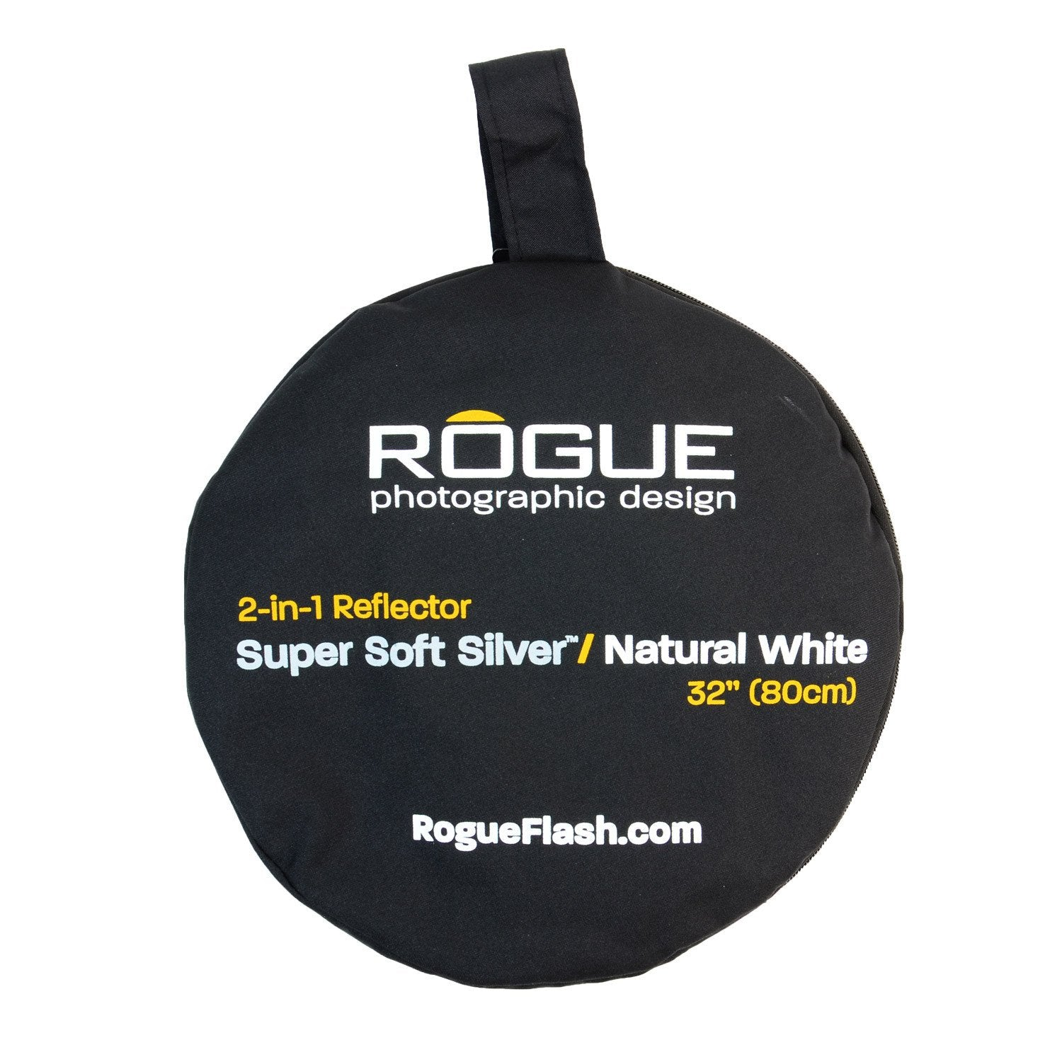 "ExpoImaging 32"" 2-in-1 Reflector - Super Soft Silver/Natural White"