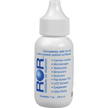 ROR Optics Cleaner 1oz Dropper Bottle