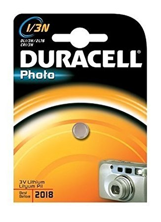 Duracell DL1/3N 3V Lithium Battery