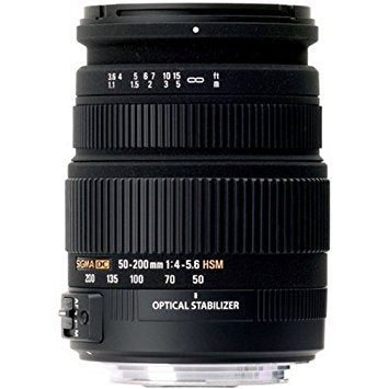 Sigma 50-200mm f4-5.6 DC OS HSM - Canon Fit