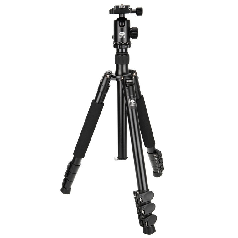 Used SIRUI ET-2004 Aluminium Travel Tripod Kit with E-20 Ball Head (No Quile Release Plate)