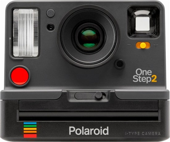 Polaroid Original OneStep2 - Graphite + i-Type Polaroid Film Cartridge
