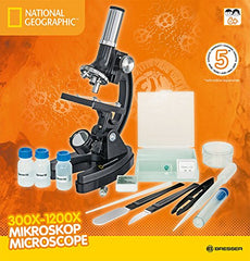 National Geographic Microscope 300x - 1200x