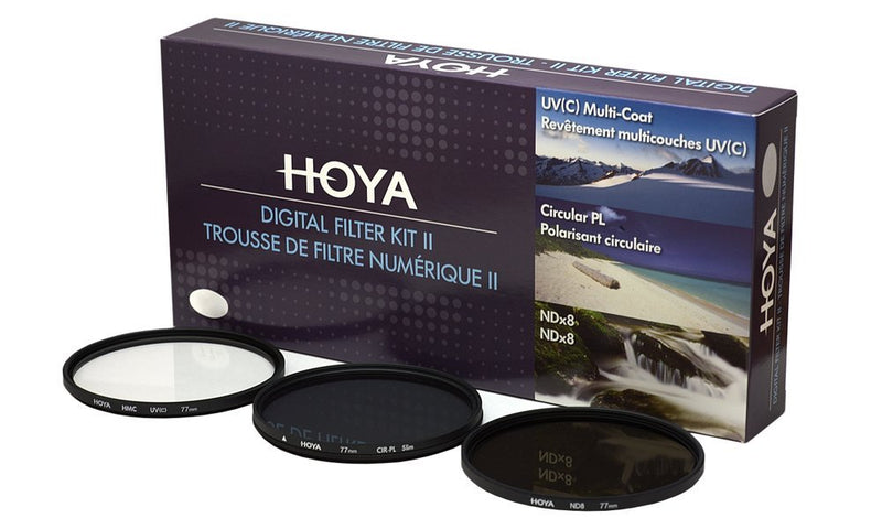 Hoya 62mm twin Filter Kit (uv/CP)