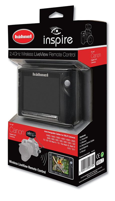Hahnel Inspire Liveview Remote - Canon