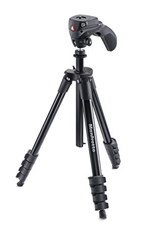 Manfrotto Compact Action Tripod - Black