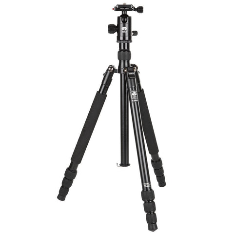 Sirui T-004KX Travel Tripod with C-10S Ball Head - Black - Cambrian Photography - 1