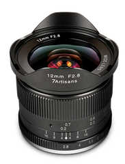 7Artisans 12mm F2.8 Manual Focus - black - Micro Four Thirds