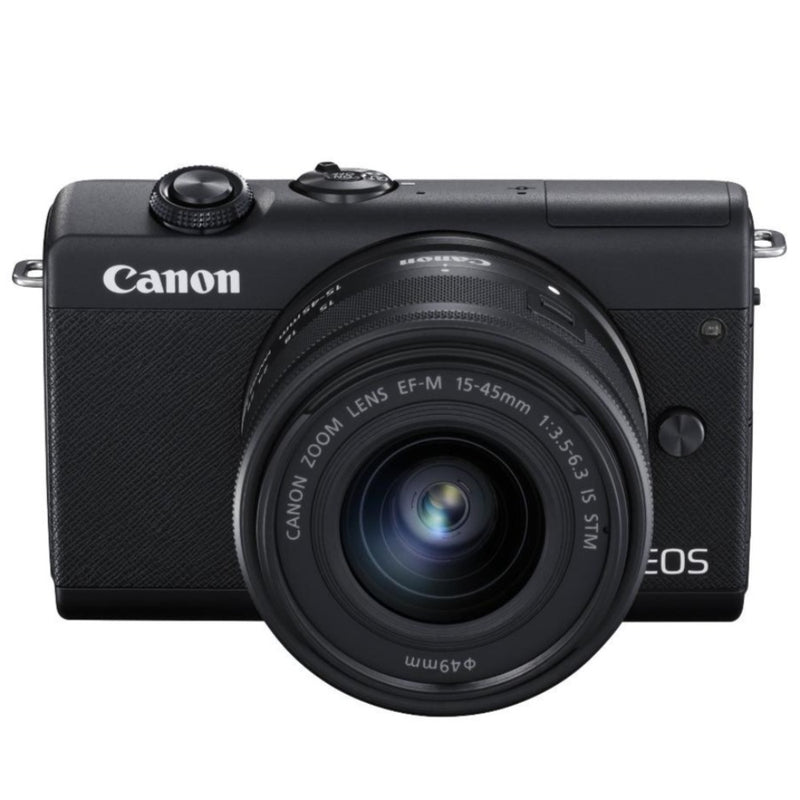 Canon EOS M200 Black & EF-M 15-45mm - AVAILABLE FOR PRE-ORDER