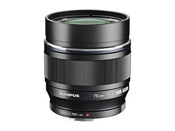 Olympus 75mm f1.8 M.ZUIKO Digital ED Lens - Black