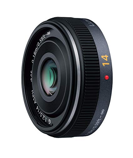 Panasonic Lumix G 14mm F2.5 ASPH Lens - Black