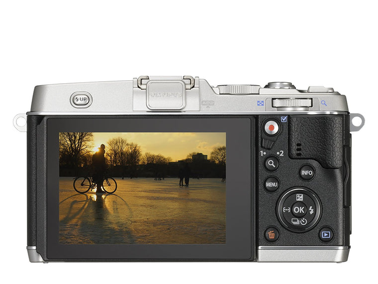 Olympus E-P5 Digital Camera Body - Silver