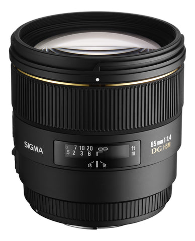 Sigma 85 mm f1.4 EX DG Lens Nikon Fit - Cambrian Photography - 1