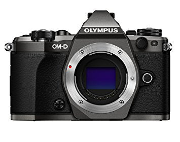 Olympus OM-D E-M5 II Digital SLR Camera Body Titanium LTD KIT