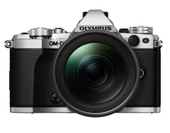 Olympus OM-D E-M5 Mark II Digital Camera with 15-140mm Lens Power Kit - Silver/Black