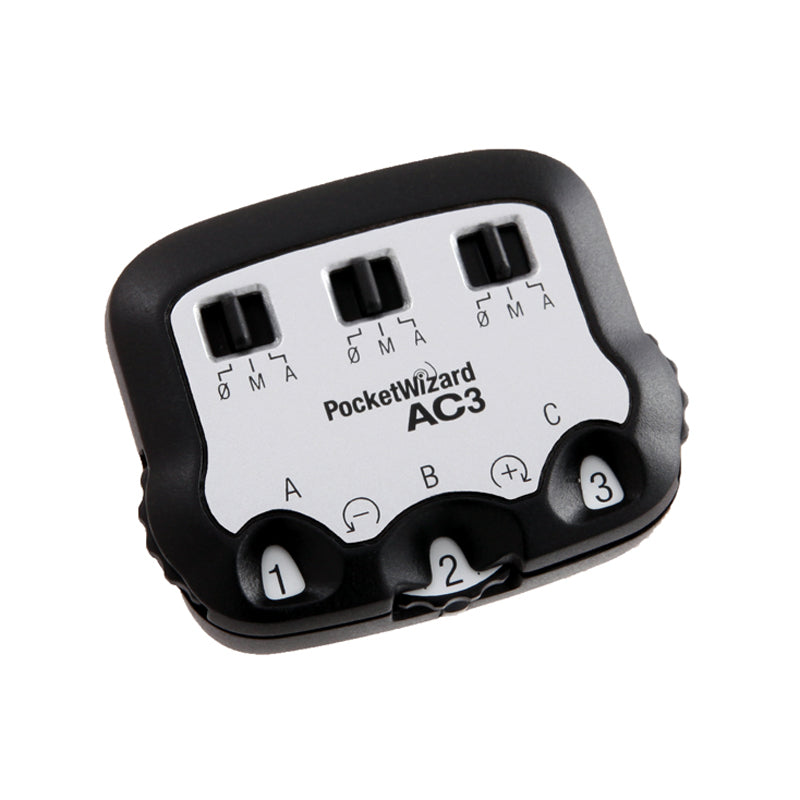 PocketWizard AC3 ZoneController with ControlTL™ for Canon