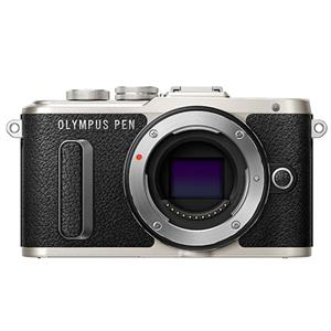 Olympus PEN E-PL8 Mirrorless Camera with 14-42mm EZ Lens - Black