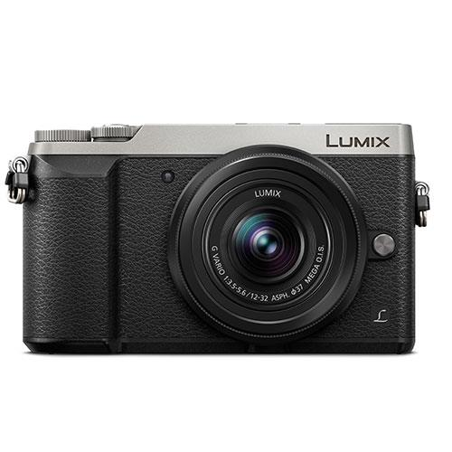 Panasonic Lumix DMC-GX80 Digital Camera with 12-32mm Lens - Silver