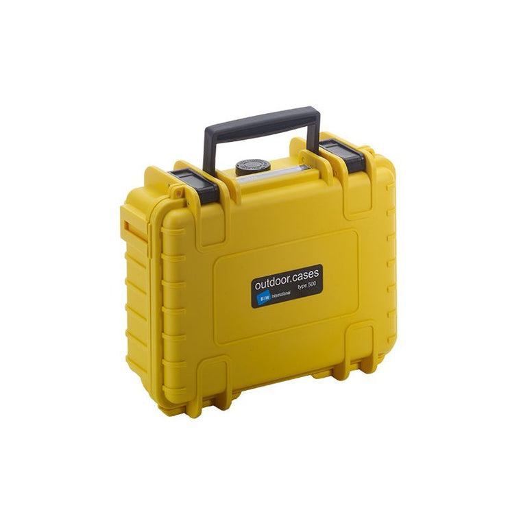 B+W Outdoor case 500 Yellow SI