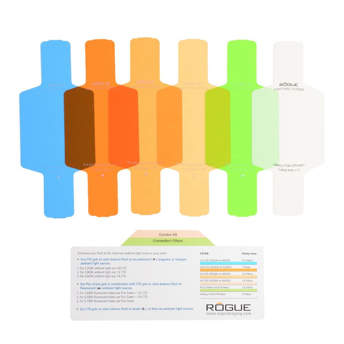 Rogue Flash Gels - Combo Filter Kit