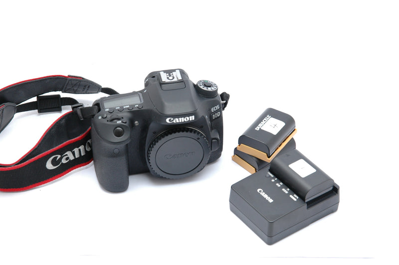 Used Canon 80D DSLR Camera