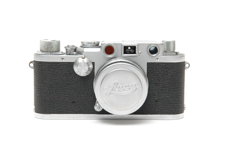 Used Leica IIIF with 5cm f2 Lens