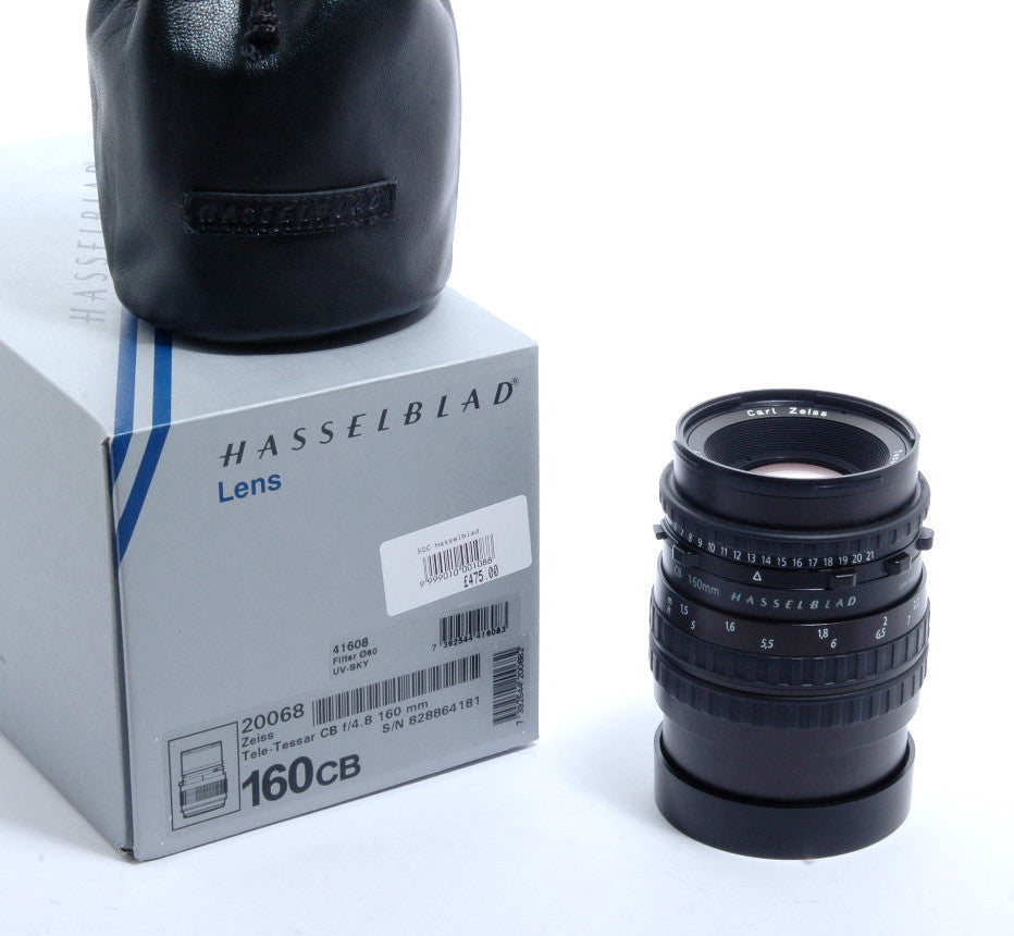 Used Hasselblad Tele Tessar 160mm f4.8 CB
