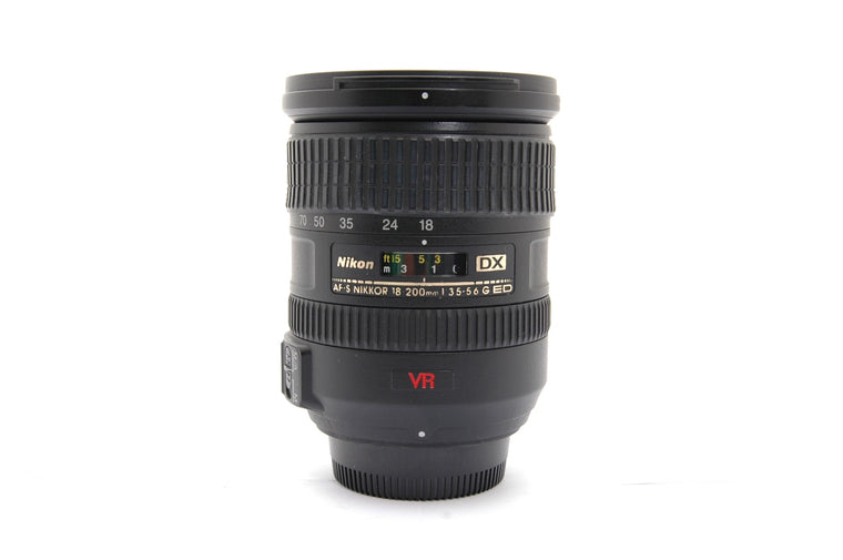 Used Nikon AF-S 18-200mm f/3.5-5.6G IF-ED DX VR Lens