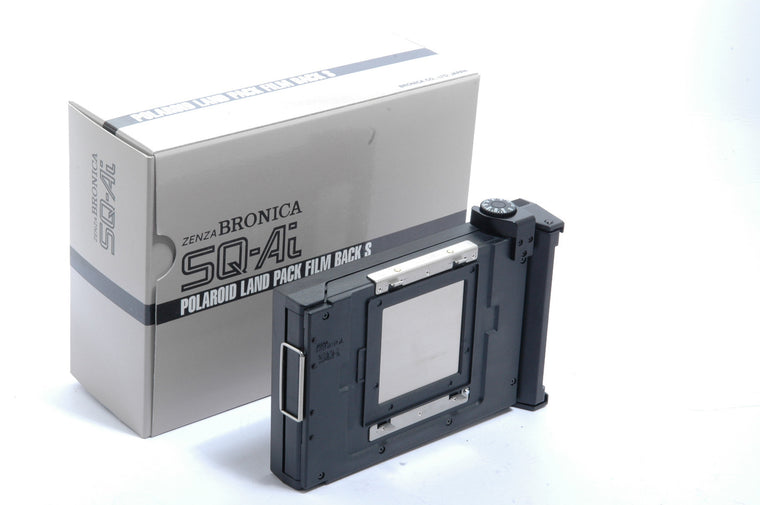 Used Bronica SQ-Ai  Polaroid Land Pack Film Back S