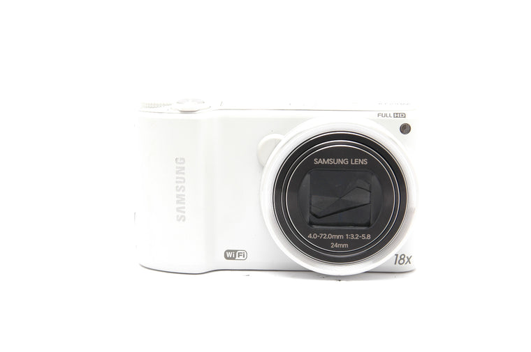 Used Samsung WB250F Compact Camera - White