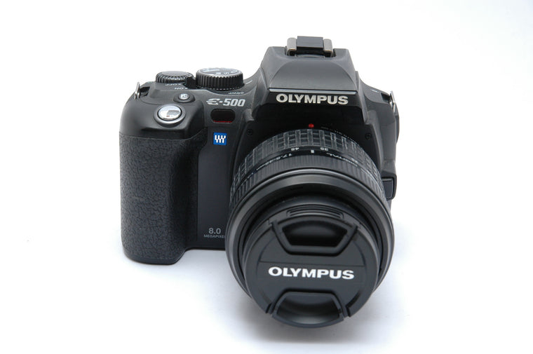 Used Olympus E-500 Camera Body with 17.5-45mm Kit Lens