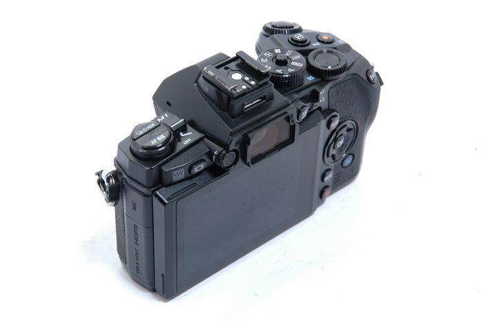 Used Olympus E-M1 Digital Mirrorless Camera Body - Black