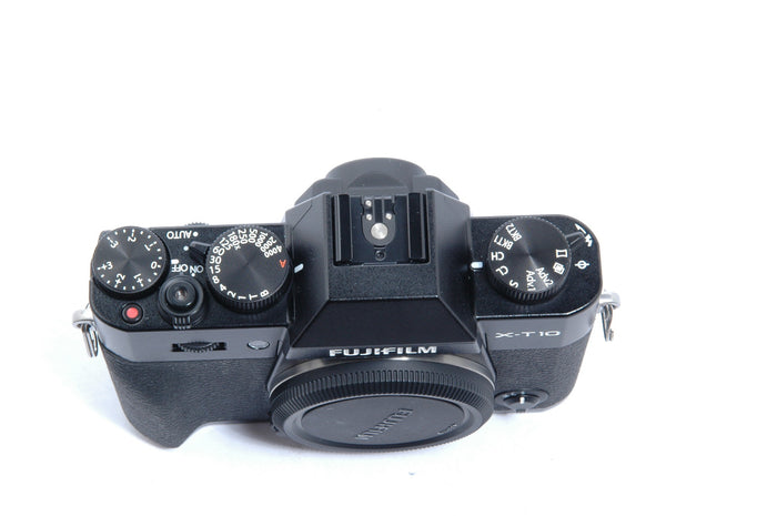 Used Fujifilm X-T10 Mirrorless Camera Body - Black