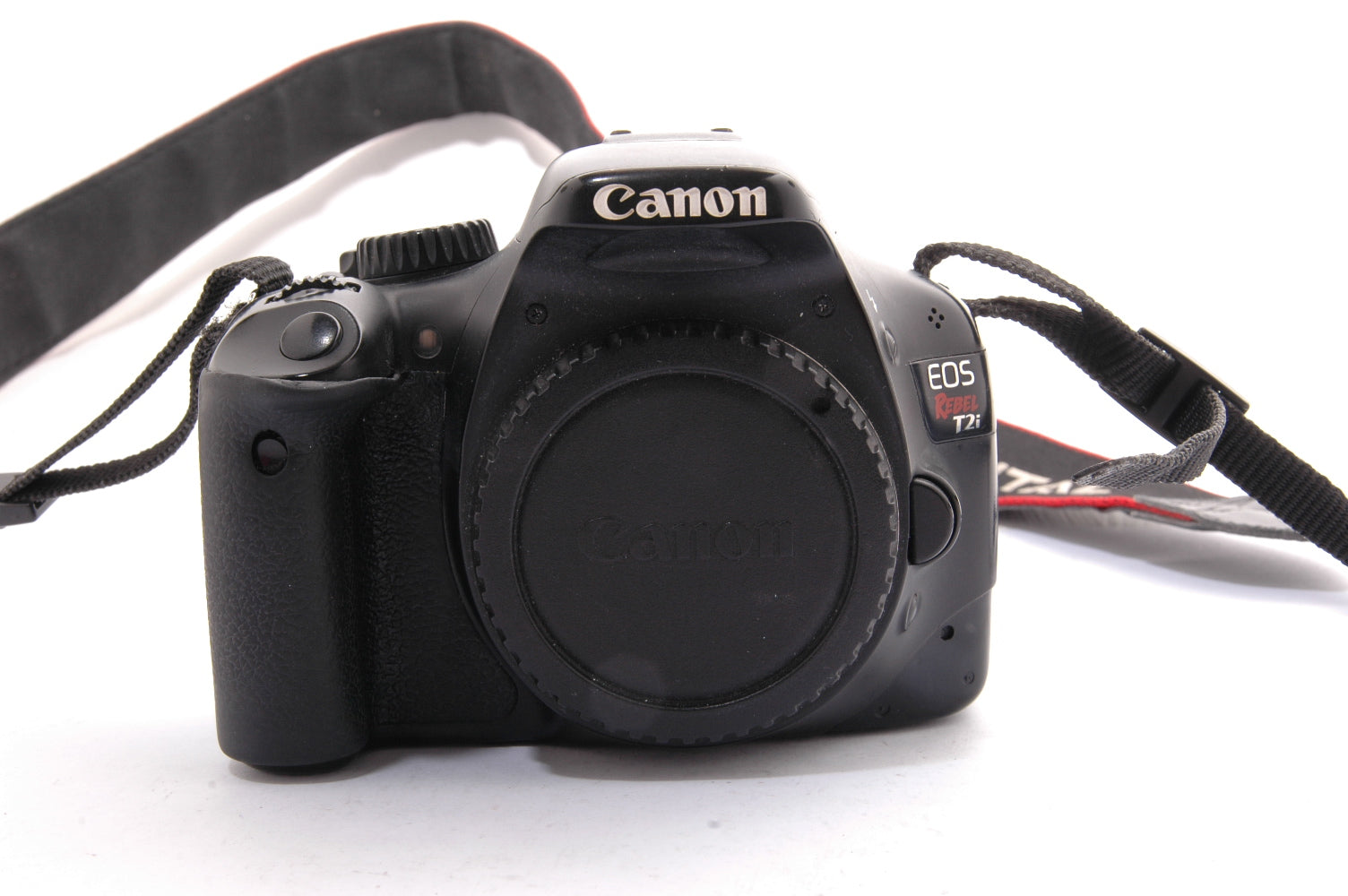 Used Canon EOS Rebel T2i Camera Body - Black