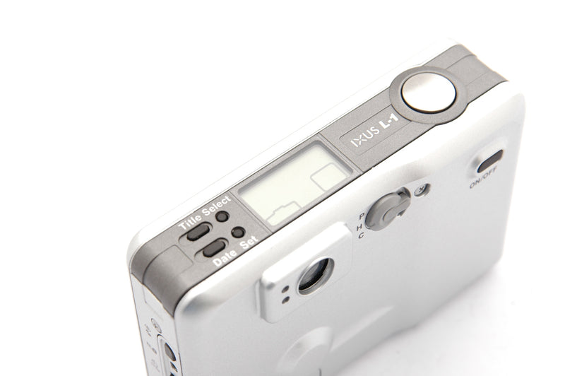 Used Canon IXUS L-1 Compact Film Cartridge Camera