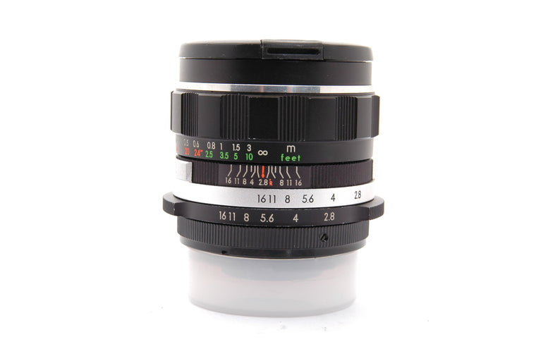 Used Soligor f2.8 Manual Focus Lens for Nikon F