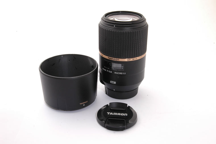 Used Tamron SP 90mm f/2.8 Di VC USD Macro for Nikon (Faulty)