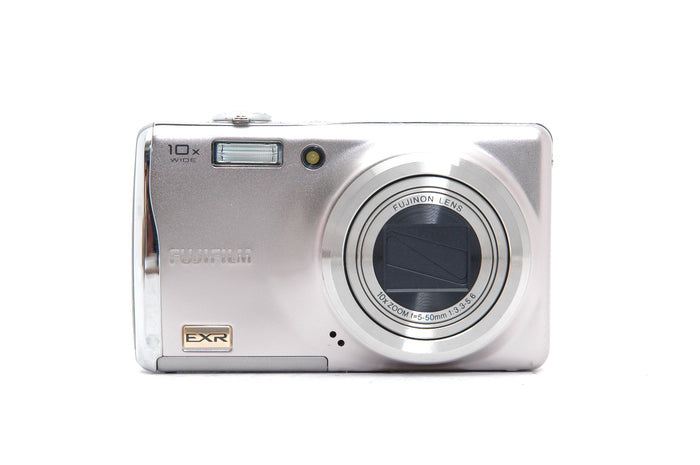 Used Fujifilm FinePix F80EXR With Waterproof case