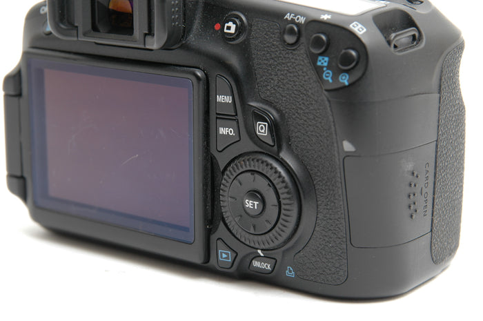 Used Canon EOS 60D Camera Body - Black