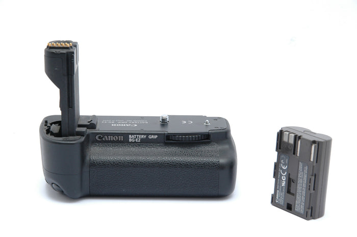 Used Canon BG-E2 Battery Grip with Battery