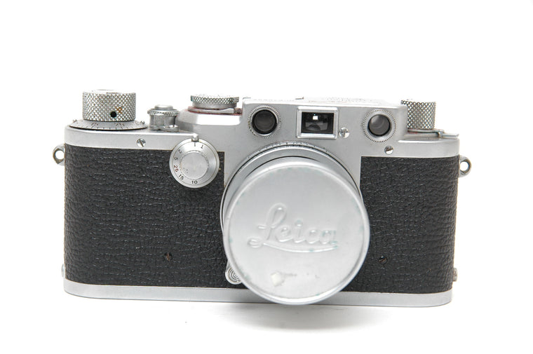 Used Leica IIIf 35mm Film Camera - Red Dial Body
