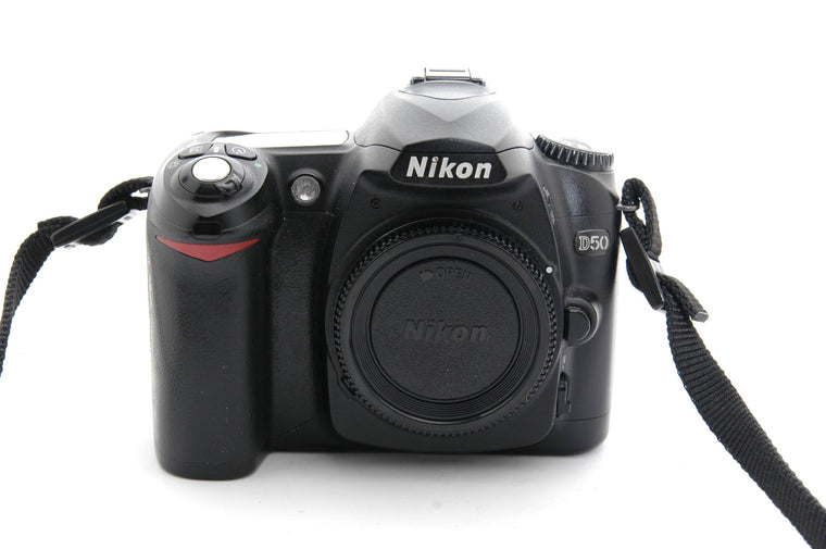 Used Nikon D50 Camera Body - Black